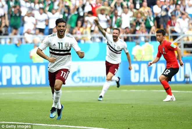 Hàn Quốc - Mexico: Đôi công rực lửa, siêu phẩm cuối trận (World Cup 2018) - 1