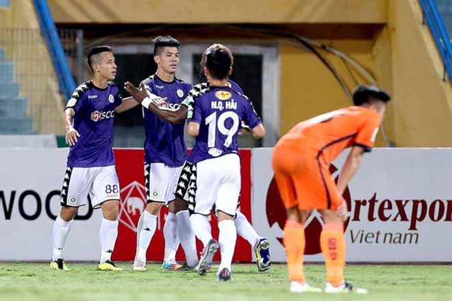 Hà Nội - SHB Đà Nẵng: Mãn nhãn 7 bàn, tưng bừng hiệp 1 (Vòng 15 V-League) - 1