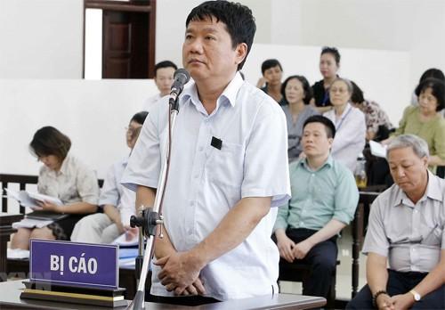 """Ông Đinh La Thăng nói lời sau cùng: """"Tôi không có tội"""" - 1"""