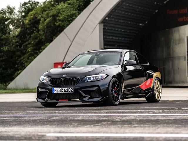 """BMW giới thiệu """"sedan thể thao"""" M2 Competition phiên bản kỷ niệm World Cup 2018"""