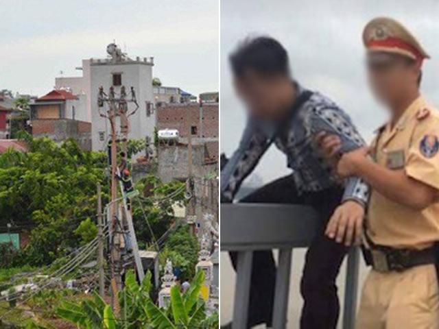Nóng trong tuần: Nhảy cầu, trèo cột điện đòi người nhà trả nợ vì thua độ World Cup