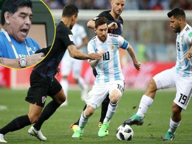 """Maradona cứu Argentina: Messi thâm hiểm, """"Cậu bé vàng"""" gánh họa World Cup"""