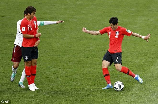 """Kiệt tác sút xa World Cup: """"Ronaldo Hàn Quốc"""" đốn tim người hâm mộ - 1"""