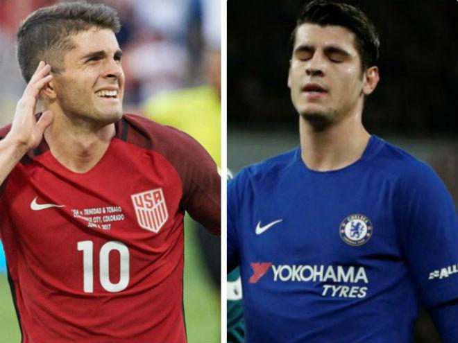 """Tin HOT bóng đá tối 24/6: Chelsea """"hiến tế"""" Morata, mua """"Messi Mỹ"""" - 1"""
