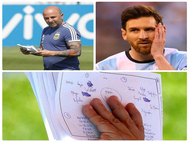 """Argentina trước """"cửa tử"""": Lộ chiến thuật, """"trảm"""" sốc Messi?"""