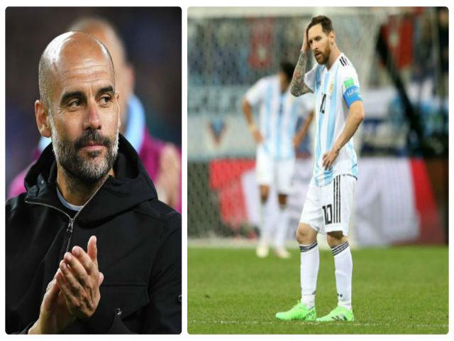 """Messi hóa """"tầm thường"""" ở World Cup: """"Tội đồ"""" Pep làm hại Argentina"""