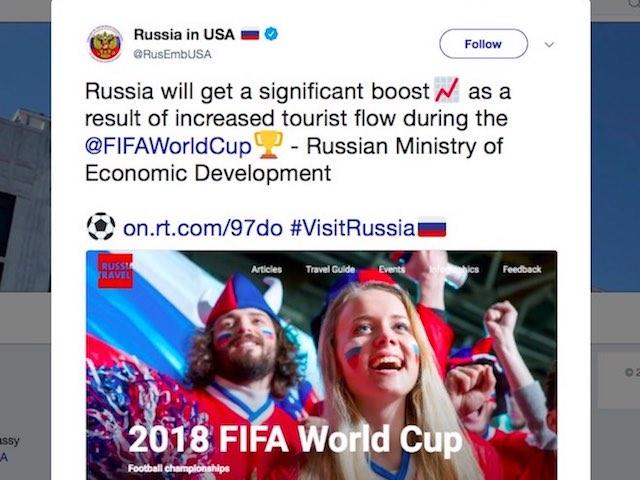 Người dùng ứng dụng hẹn hò tăng đột biến tại Nga mùa World Cup 2018