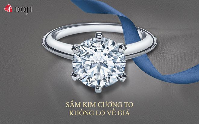 Sắm kim cương to không lo về giá - 1