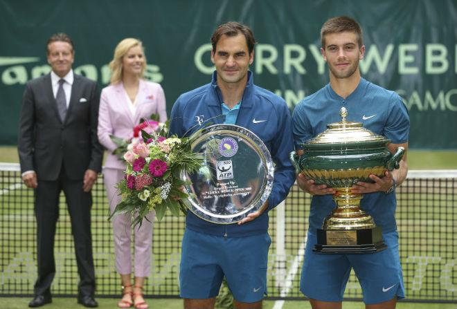 "Tennis 24/7: Federer lỡ hẹn ""Decima"", vẫn tin giữ ngai vàng Wimbledon - 1"