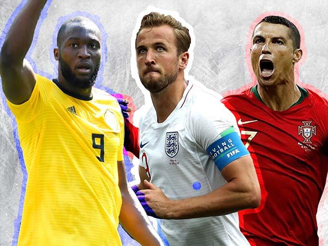 Vua phá lưới World Cup: Ronaldo đáng sợ nhưng cô độc, dễ thua Lukaku - Kane - 1