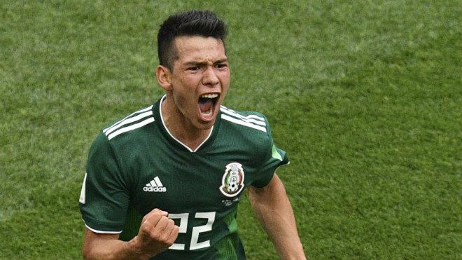 """""""Thần đồng"""" Mexico rực sáng World Cup: MU nhắm Chicharito 2.0 - 1"""