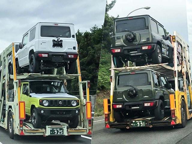 Suzuki Jimny 2019 ''rục rịch'' xuất hiện trên xe tải tại Nhật Bản trước ngày ra mắt