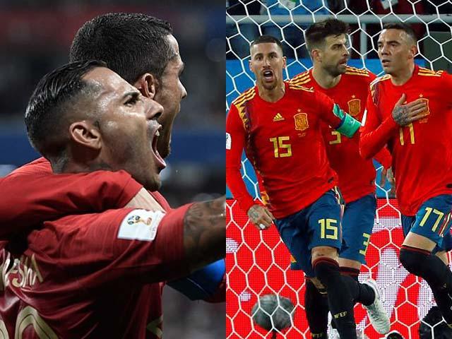 """World Cup: Ronaldo, Neymar lọt """"tử địa"""", Tây Ban Nha & Bỉ đi con đường tơ lụa - 1"""