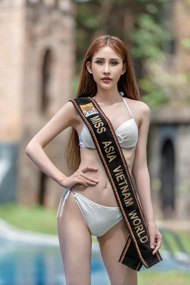 Chi Nguyễn sút 5kg khi dự Hoa hậu châu Á - 1