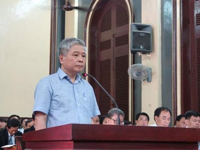 Gay cấn phiên tòa xử cựu phó Thống đốc Ngân hàng Nhà nước