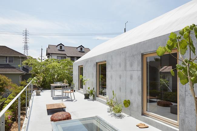 Dần dần, cách bố trí đô thị và hình dạng mái nhà đã trở thành điểm đặc trưng của khu vực này.