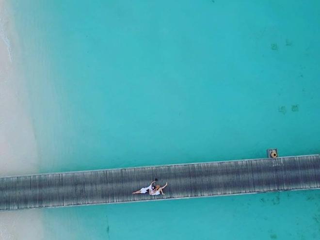 Xôn xao tin Cường Đô La và Đàm Thu Trang chụp ảnh cưới ở Maldives - 1