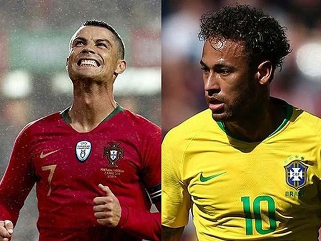 """World Cup: Ronaldo, Neymar lọt """"tử địa"""", Tây Ban Nha & Bỉ đi con đường tơ lụa"""