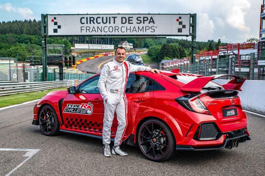 Honda Civic Type R gây ấn tượng với tốc độ tại trường đua Spa-Francorchamps - 1