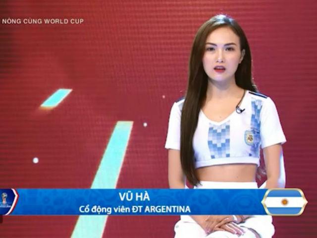 Nóng cùng mỹ nhân World Cup 26/6: Hot girl mê Messi đá 11m ảo diệu, điềm lành Argentina