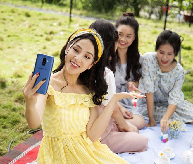 Cùng sao Việt săn điện thoại Samsung giá rẻ bất ngờ - 1