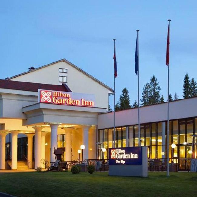 Hilton Garden Inn New Riga- Đại bản doanh của tuyển Pháp mùa World Cup 2018 - 1