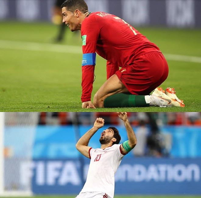 """Kinh điển Tây Ban Nha, Bồ Đào Nha, Iran: VAR """"thao túng"""", Ronaldo rớt tim - 1"""