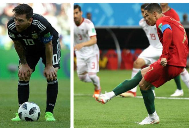 """Ronaldo trượt 11m: Fan Messi mở tiệc, chê bai """"bắt chước"""" thần tượng - 1"""
