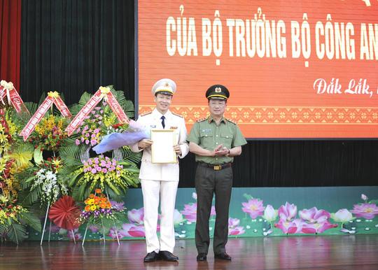 Đắk Lắk có tân giám đốc công an tỉnh 42 tuổi - 1