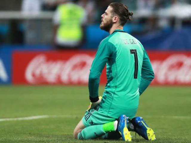 """De Gea tệ hại 3 trận lọt 5 bàn: Bị """"bãi chức"""" khỏi World Cup, nghi án thầy dìm trò"""