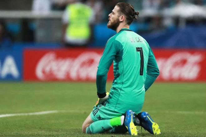 """De Gea tệ hại 3 trận lọt 5 bàn: Bị """"bãi chức"""" khỏi World Cup, nghi án thầy dìm trò - 1"""