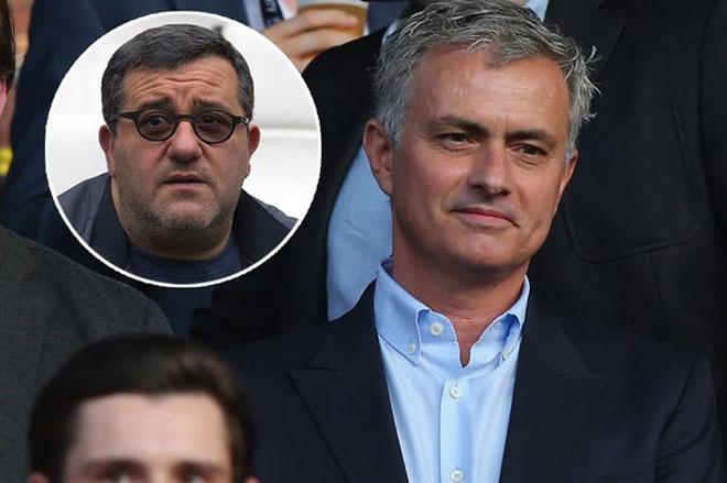 Chuyển nhượng MU: Mourinho gây sốc, ép Pogba bỏ người đại diện - 1