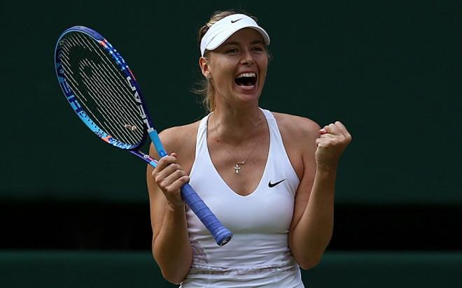 """Nhức nhối Wimbledon: """"Búp bê Nga"""" Sharapova mồm to như tiếng máy bay - 1"""