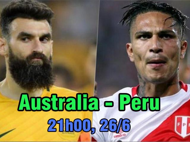 World Cup, Australia – Peru: Sứ mệnh ở Sochi, chờ phép màu Moscow