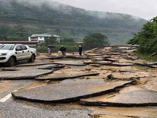 Mưa lũ ở Lai Châu: 31 người chết và mất tích, thiệt hại gần 500 tỷ đồng - 1