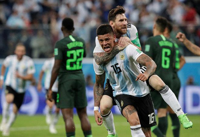 """Argentina thoát """"cửa tử"""": SAO MU rực sáng, bàn thắng phút 86 bằng vàng ròng - 1"""