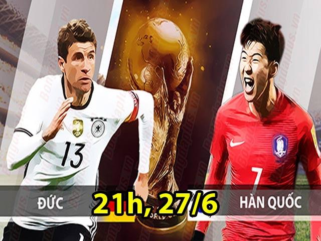 """Nhận định bóng đá World Cup, Đức – Hàn Quốc: Chờ xem """"ông trùm"""" Đức bung sức"""
