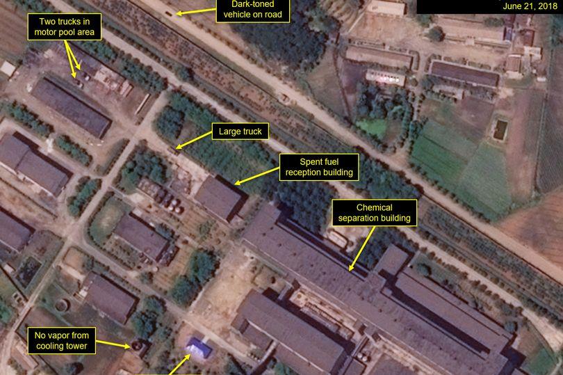 Phát hiện Triều Tiên vẫn xây dựng tại bãi thử hạt nhân - 1