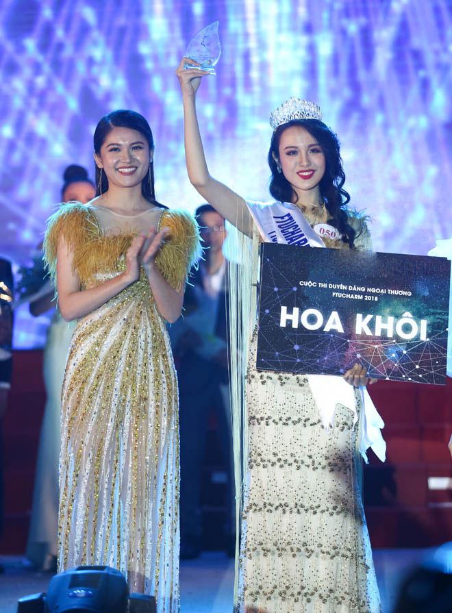 Hoa khôi Ngoại thương, nữ sinh RMIT đẹp nổi bật ở Hoa hậu Việt Nam - 1