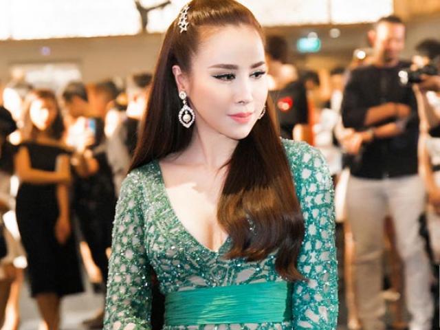Hoa hậu Áo dài Hoàng Dung diện đầm Zuhair Murad đắt giá