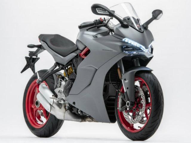 """2019 Ducati SuperSport màu mới mạnh như """"hùm xám"""""""