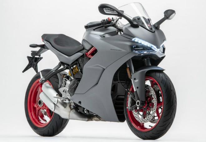 """2019 Ducati SuperSport màu mới mạnh như """"hùm xám"""" - 1"""