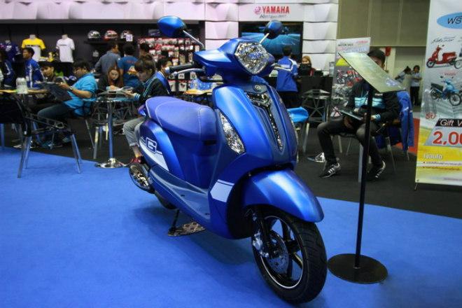 2018 Yamaha Grand Filano Thái giá 35 triệu đồng, SH Mode e dè - 1