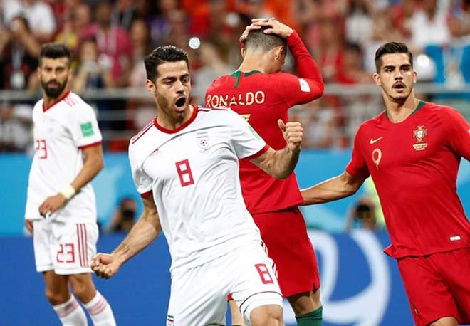 Bồ Đào Nha bị Iran bắt bài: Uruguay mưu kế hiểm khóa Ronaldo tịt ngòi - 1