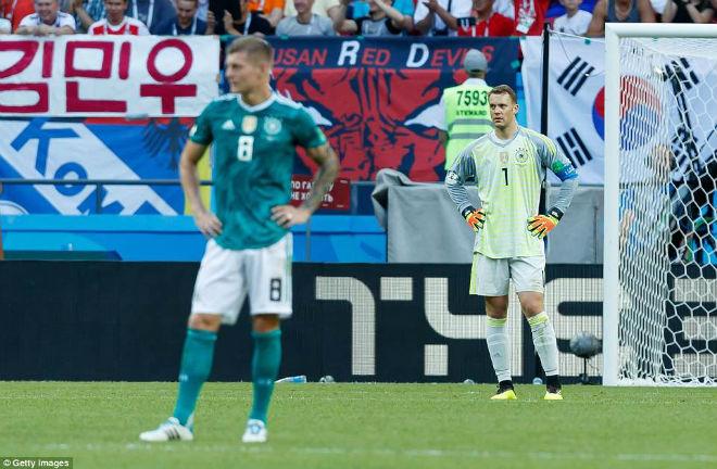 Chấn động World Cup: ĐT Đức và hội chứng sống mòn trên ngai vàng vô địch - 1