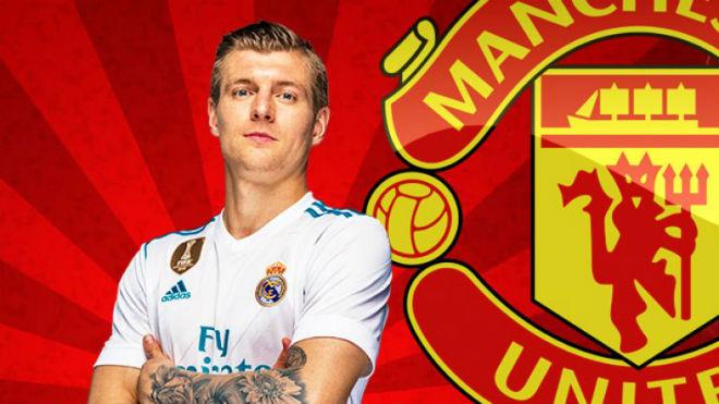 """Chuyển nhượng MU: Quyết tạo """"siêu bom tấn"""" Toni Kroos từ Real Madrid - 1"""