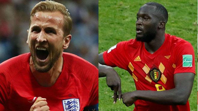 World Cup, Anh – Bỉ: So tài cao thấp, Kane – Lukaku săn bàn - 1