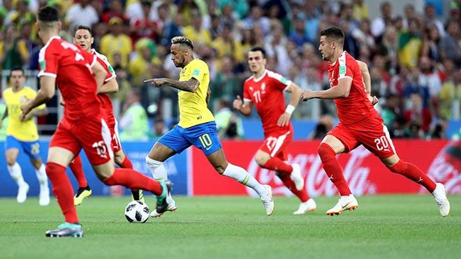 Brazil - Serbia: Hai cú đấm chí tử, vé vàng knock-out (World Cup 2018) - 1