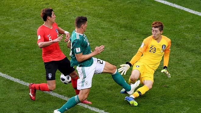 """Đại địa chấn World Cup: """"Người nhện"""" Hàn Quốc siêu đẳng loại Đức là ai? - 1"""