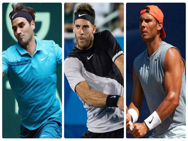 Del Potro: Kẻ khiến Federer, Nadal lo ngại nhất Wimbledon 2018